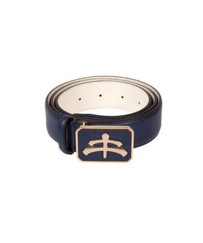 cinturon de cuero makebe