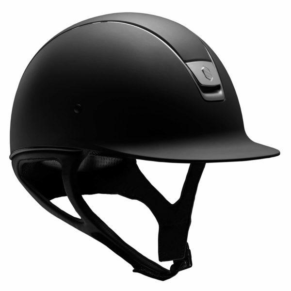 casco samshield shadowmatt color negro