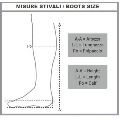 como medir bota